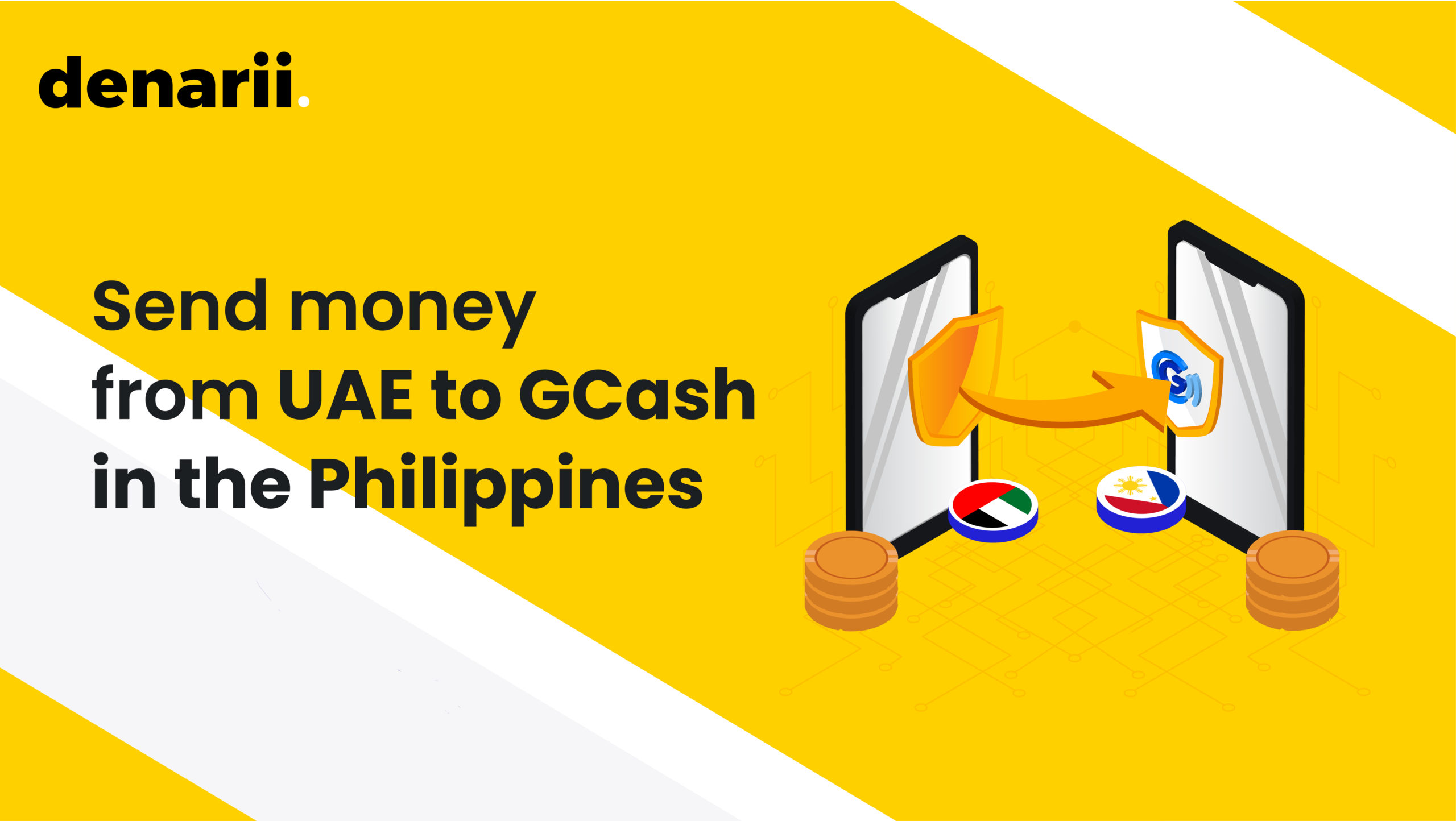 Send money from UAE to GCash in the Philippines
