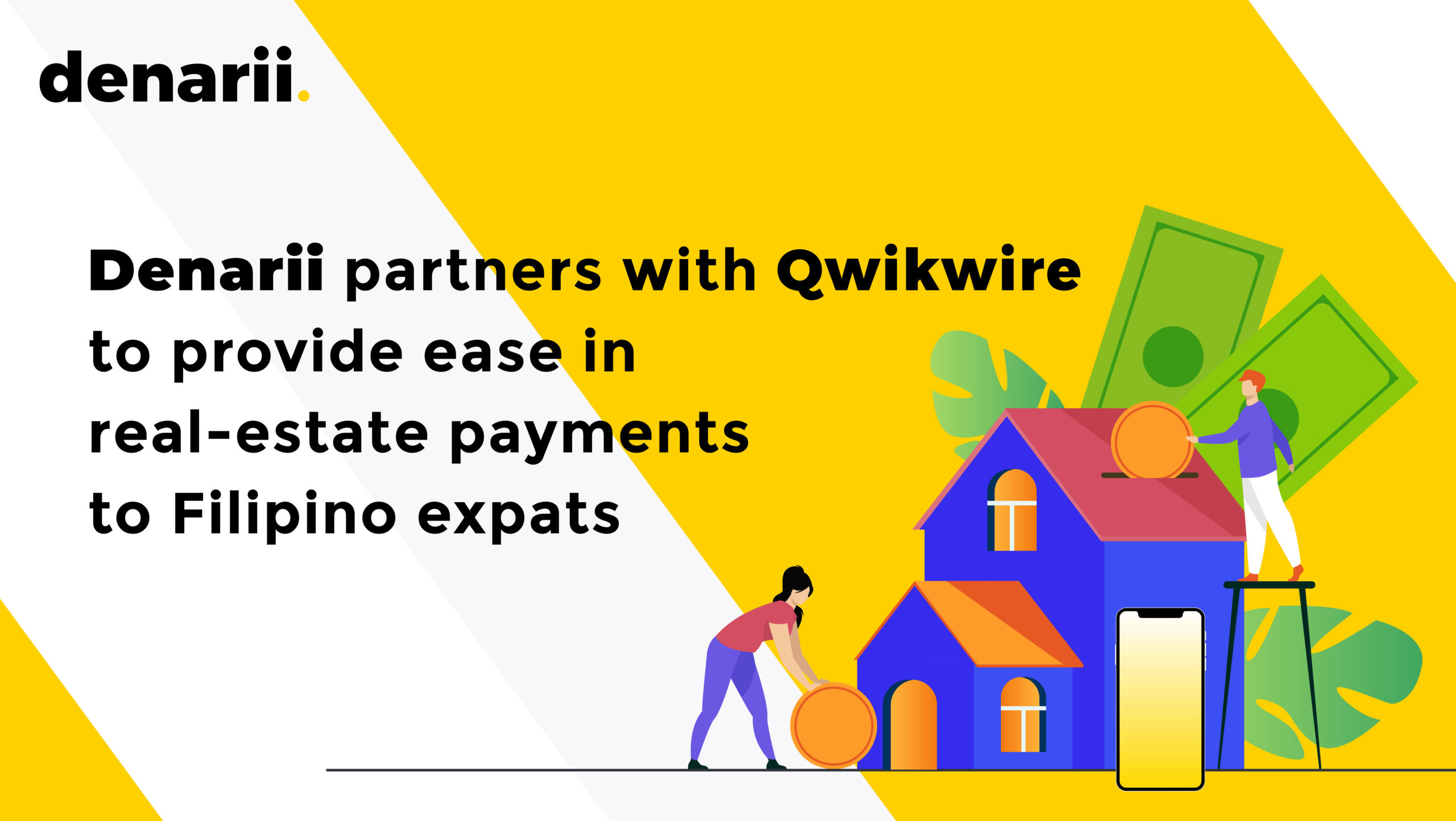 Denarii Partners with Aqwire to provide ease in real-estate payments to Filipino expats