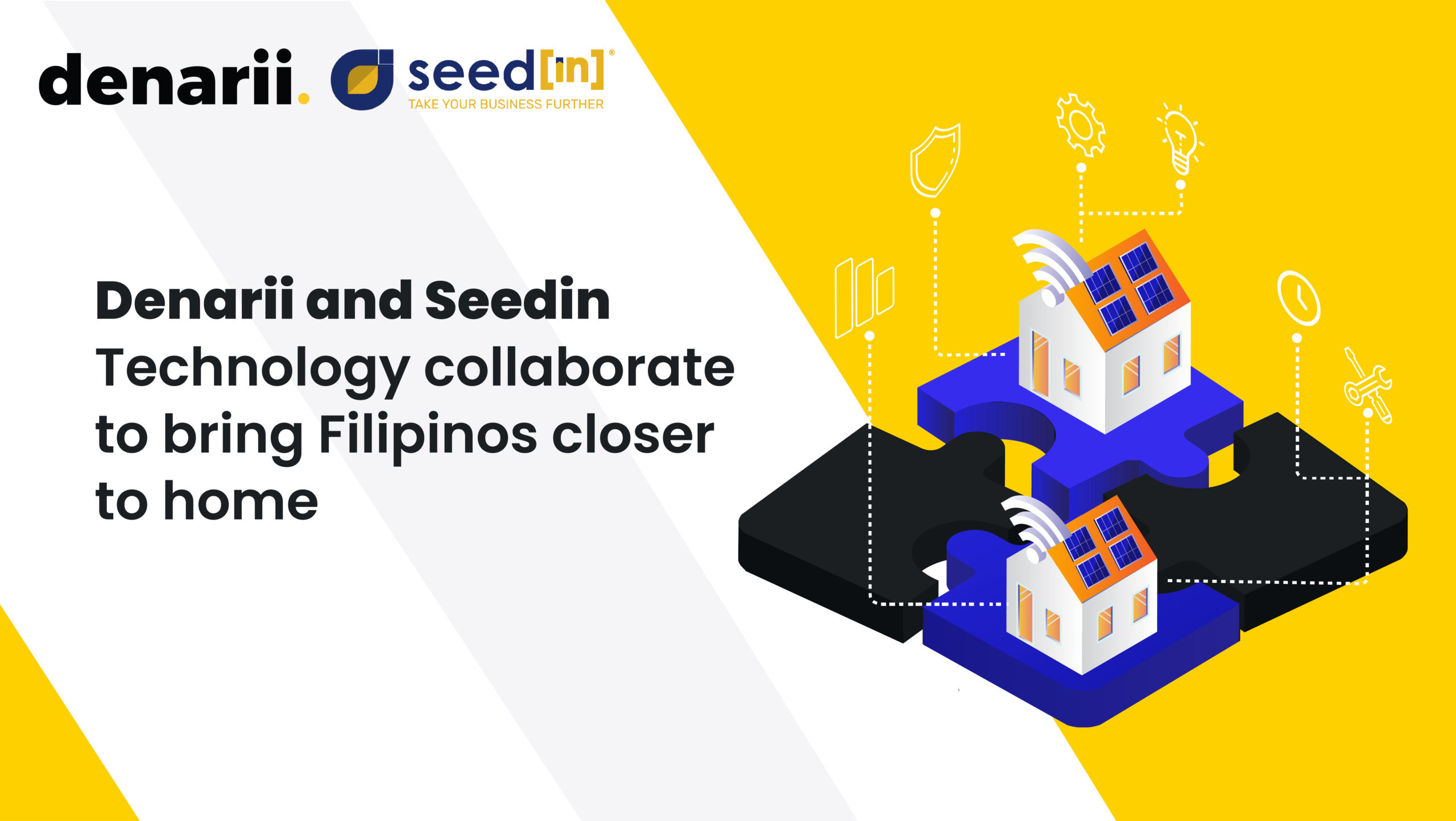 Denarii and Seedin Technology collaborate to bring Filipinos closer to home